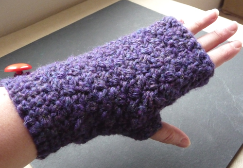 Purple mitt 1