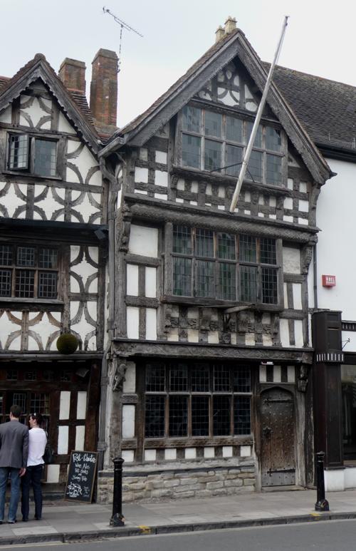 Whole front pub