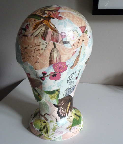 Finished head 1