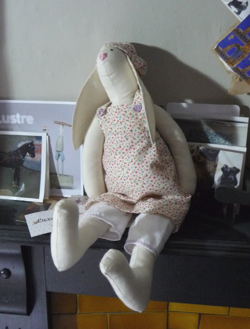 Wee quilter bunny