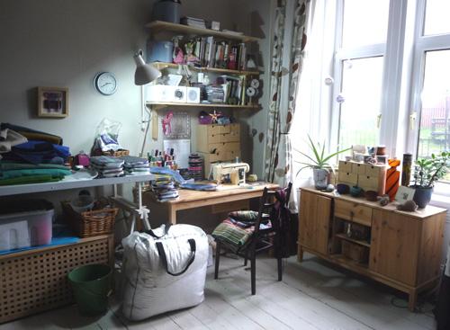 Workroom before