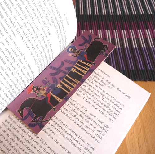 Toast bookmark