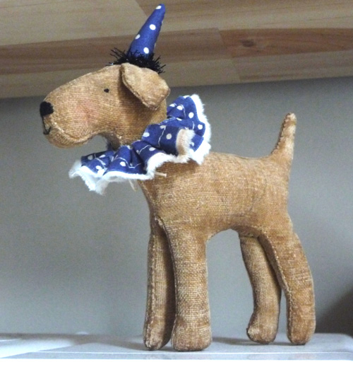 Bob the tiny fox terrier