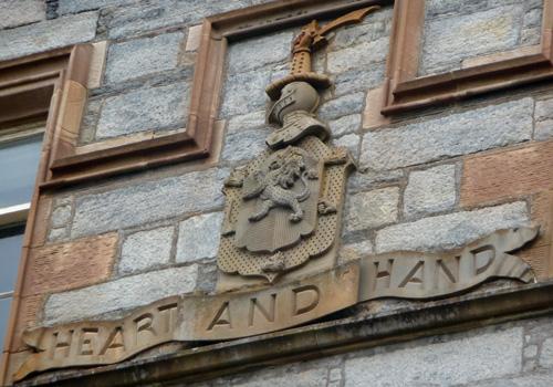 Lewis castle coa