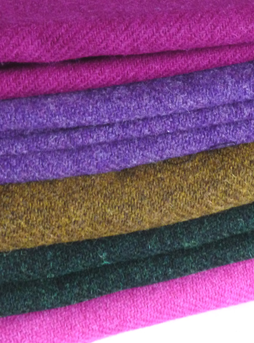 Plain tweeds