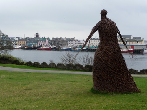 Wicker woman stornoway