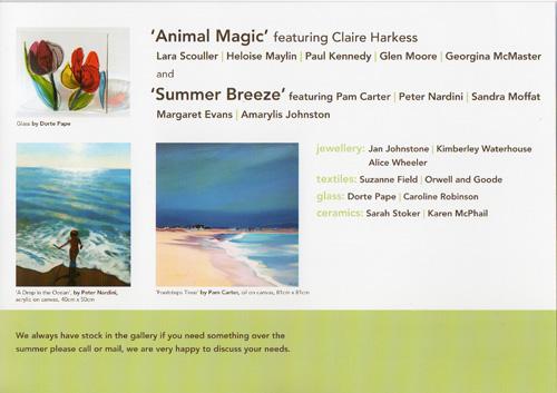 Green gallery flyer 2